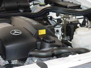 Mercedes-Benz E320 Oil Change
